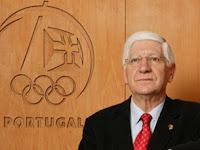 Fotografia de Vicente Moura, Presidente do Comité Olímpico de Portugal