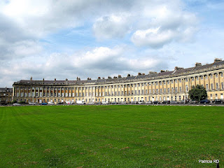 Foto do Royal Crescent em Bath