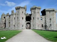 Raglan Castle, Cardiff, Wales