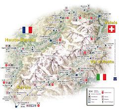 Ruta del Ultra Trail du Mont Blanc