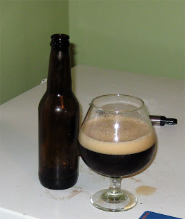 Snifter of Strong Dark Sour Beer