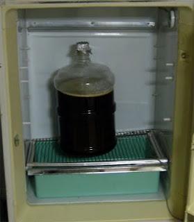 Fermenting Weizenbock