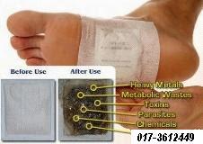 DETOX FOOT PATCH PALING MURAH &  BERKESAN RM0.45/PC