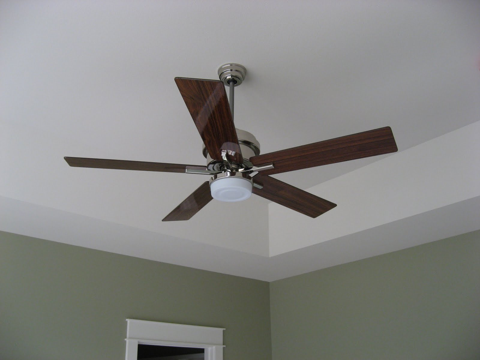 Green house good life why are ceiling fans always so ugly and then choosing fans like he chooses work pants all khaki all the time he picked the same one for the master bedroom aloadofball Images