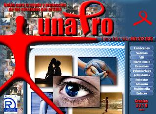 Actualización de la web de UNAPRO