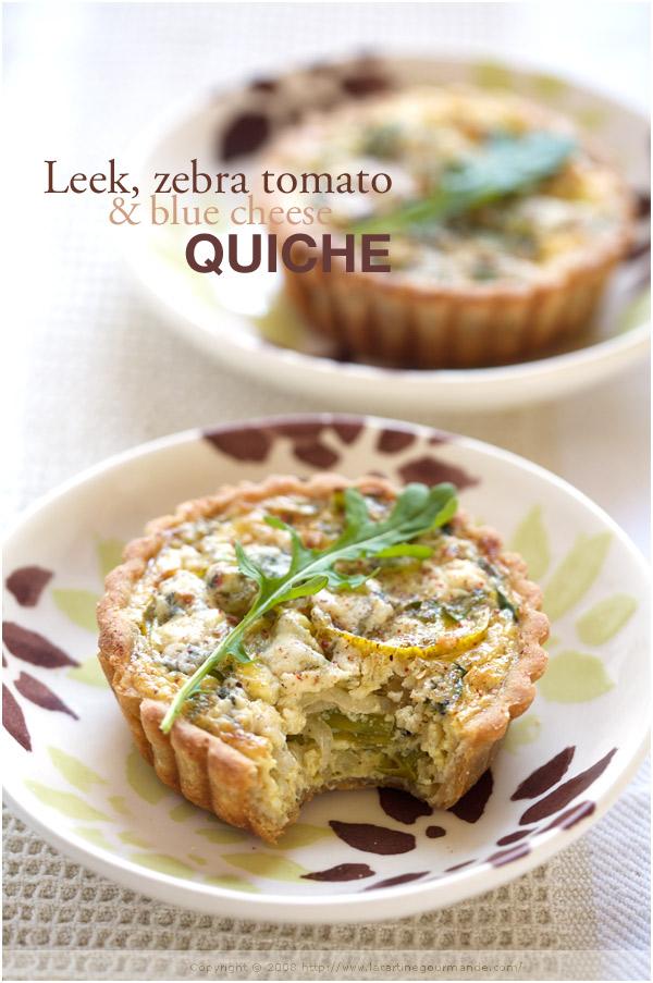 Fifi cheek la tartine gourmande for Luxury quiche