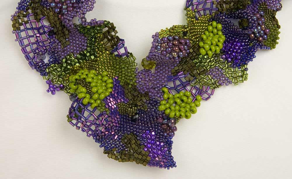 pink sunset jewelry designs the versatile peyote stitch