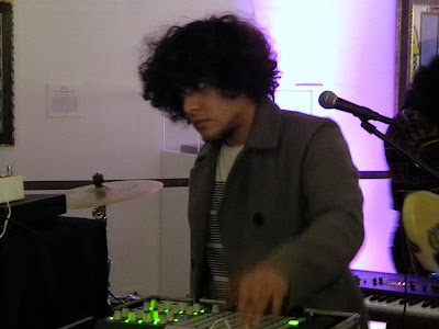 Neon Indian at The Wadsworth Atheneum, Hartford, Connecticut