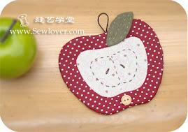 Podkładka jabłko