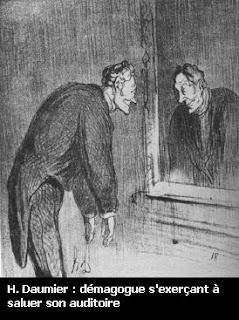 le démagogue de Daumier