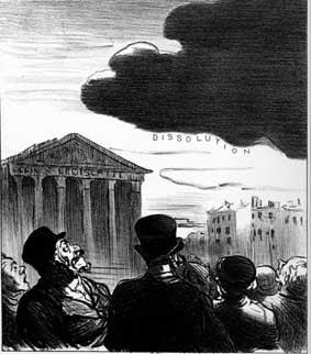 dissolution par Daumier