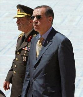 Erdogan et le chef d'état major
