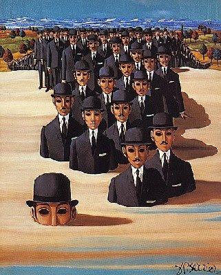 chapeaux melons dans les sables mouvants