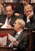 Emmanuelli, Hollande et Ayrault