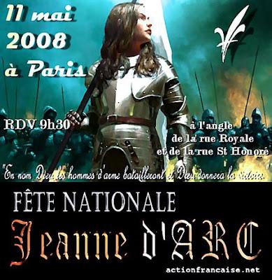 affiche AF Jeanne 2008