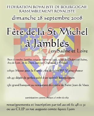 Affiche pour Jambles 2008