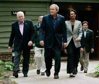 Bush, Cheney et Rice