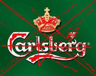 étiquette carlsberg