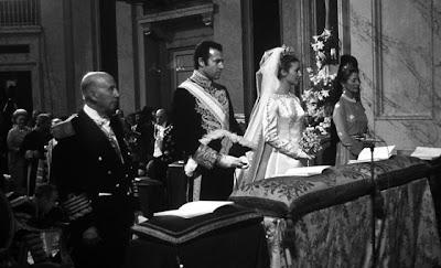 mariage d'Alphonse de Bourbon et de Carmen Martinez-Bordiu