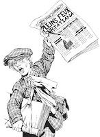 crieur de journaux