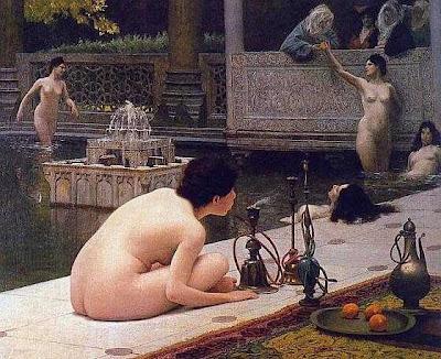 narguilé au bains