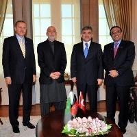 présidents Turquie, Afghanistan et Pakistan