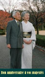 l'empereur et l'impératrice du japon