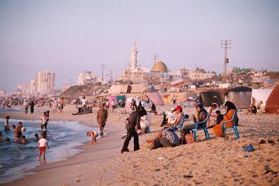 plage à Gaza