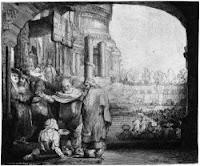 Petrus und Johannes - radiert vom guten alten Remmi