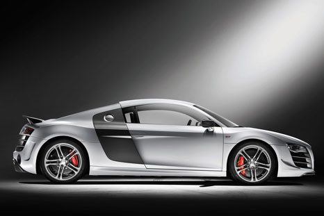 audi r8 gt 5 Audi R8 GT: lighter and more powerful