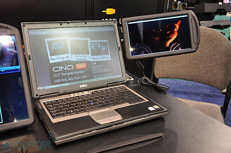 cinq 5 CINQ: additional monitors to your notebook
