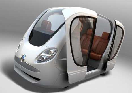 masdar city electric vehicles Taxi without driver (Podcars) will be operated in the Masdar city in Abu Dhabi
