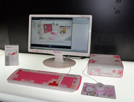 hello kitty mini pc 1 MiNew A10 Hello Kitty Mini PC: Mini PC specifically for the Hello Kitty fans