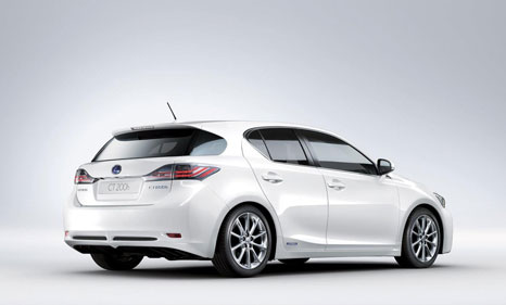 lexus ct200h 1 Lexus CT200h: The first hybrid car from Lexus