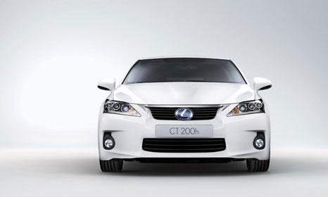lexus ct200h 3 Lexus CT200h: The first hybrid car from Lexus