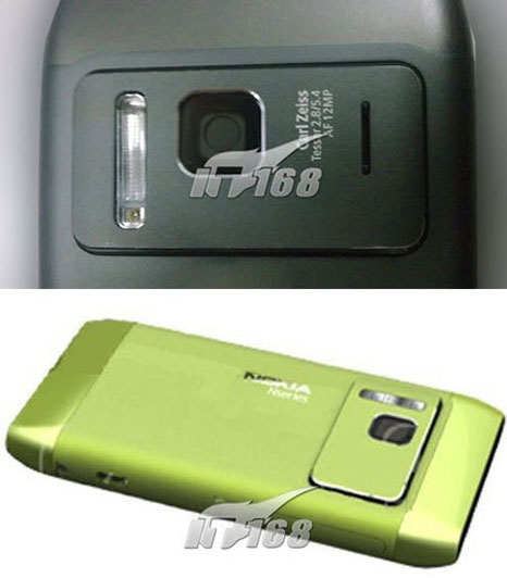Nokia N8-00: 12 MP camera phone as a competitor of the Sony Ericsson Satio