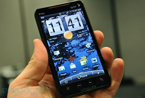 htc evo 4g 1 HTC EVO 4G: The first Android mobile phone with 4G connectivity in the United States