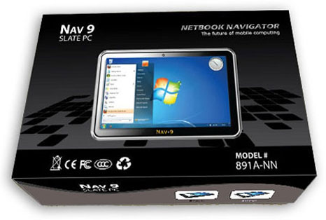 NAV 9 Slate PC: one again iPad competitor but with more expensive price?