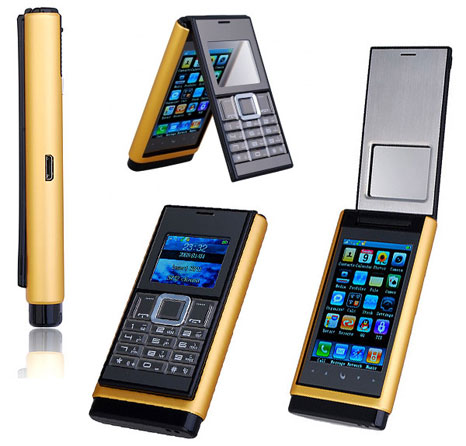 N933 mobile phone: flip phone which is also similar to the iPhone