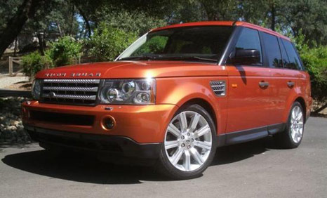 range rover Range Rover Sport Hybrid will be sold in the year 2012