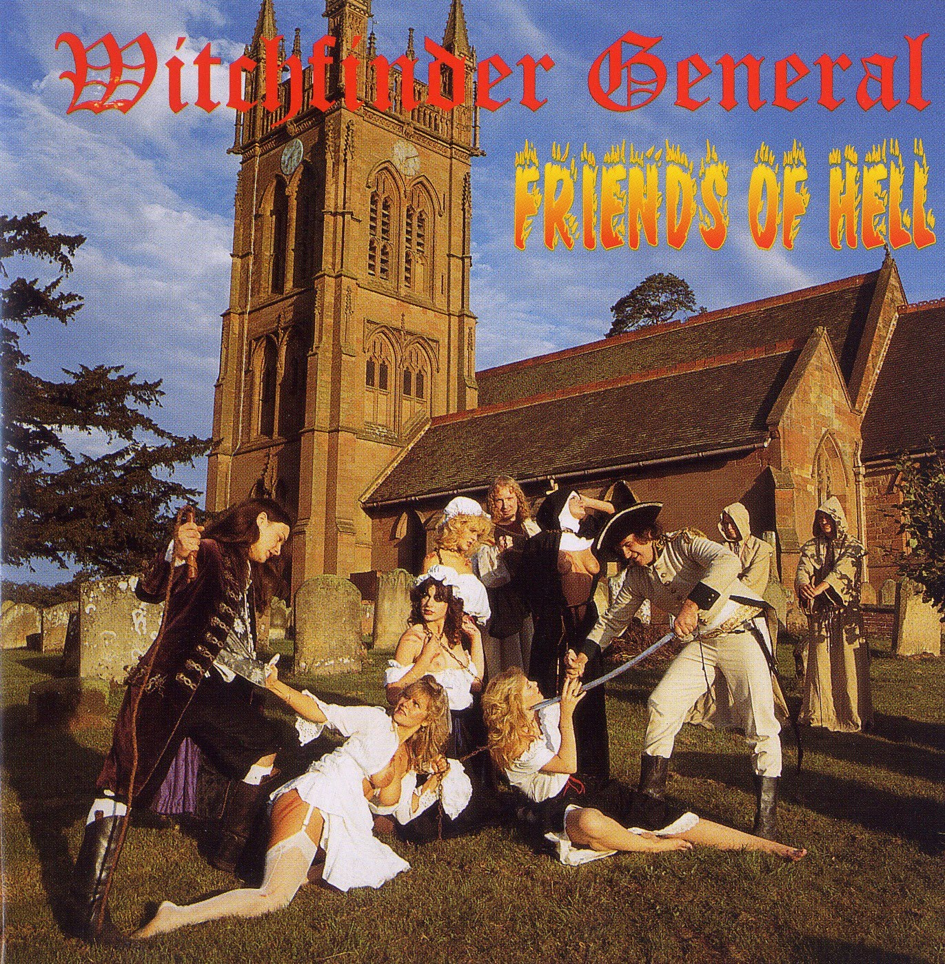 Witchfinder General Friends Of Hell 1983 Reissue 1998