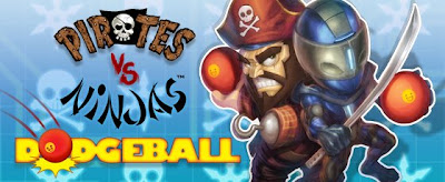 Pirates vs Ninjas Dodgeball