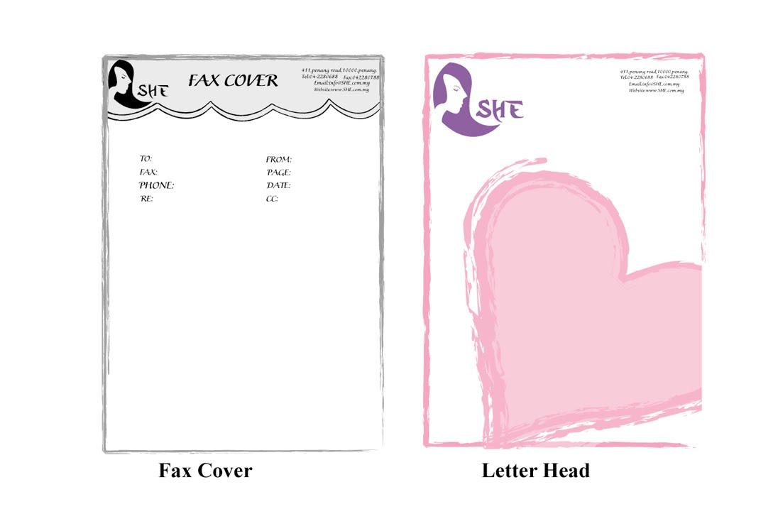 cover fax letter head