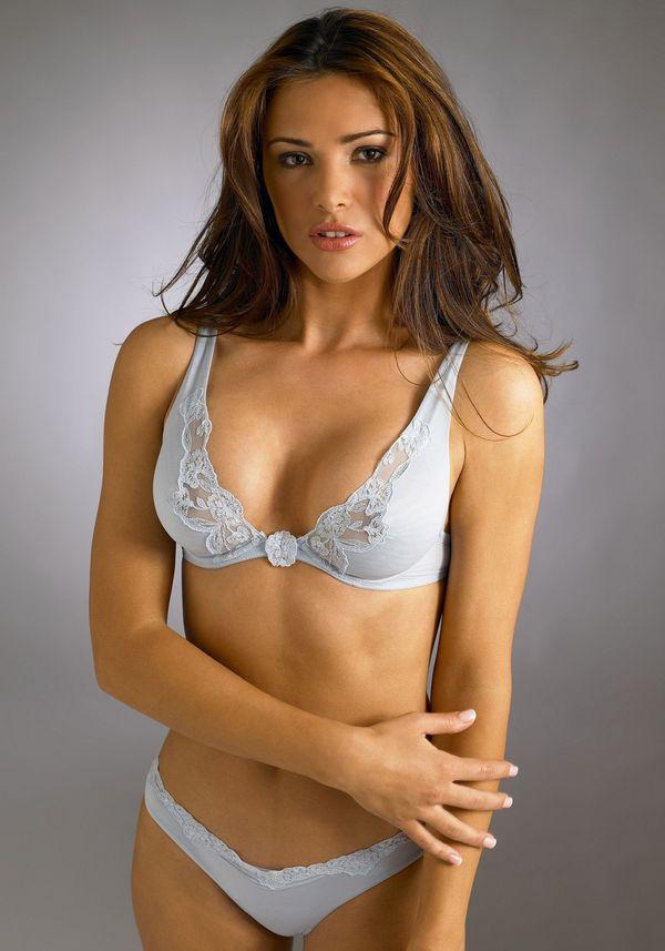 la senza lingerie photoshoot of model alina vacariu