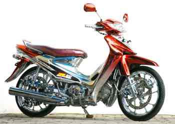 Modifikasi Motor Suzuki Smash Modif Terbaru