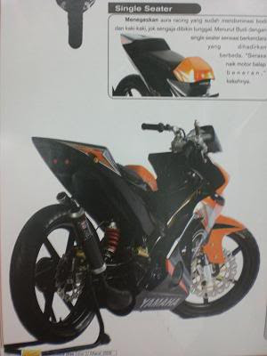 MODIFIKASI MOTOR F1Z R
