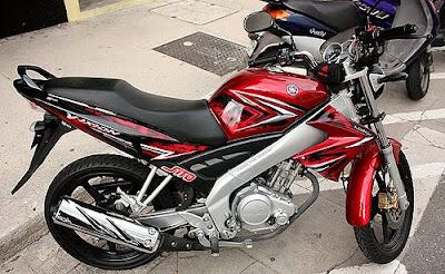 Modifikasi Yamaha Vixion 2009 Sportbike