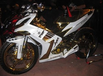 MODIFIKASI YAMAHA JUPITER MX 135 2009