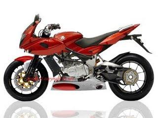 Modifikasi motor Bajaj Pulsar 250 cc 2009