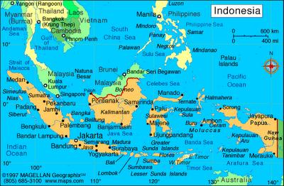 Gambar Peta Indonesia Lengkap Terbaru